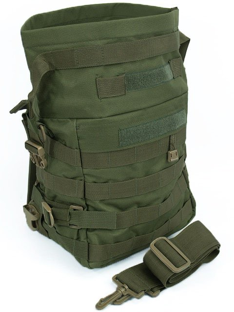 Tactical Shoulder Bag Utility Gear molle packs Olive Drab Od