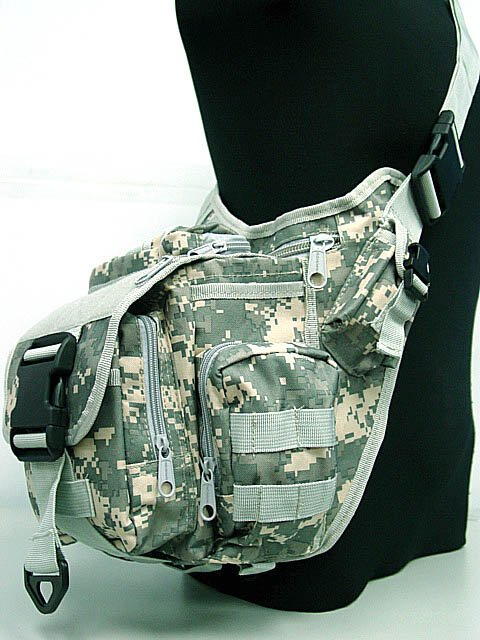 Messenger Tactical Military Shoulder Bag Outdoor Cycling Pouch ACU