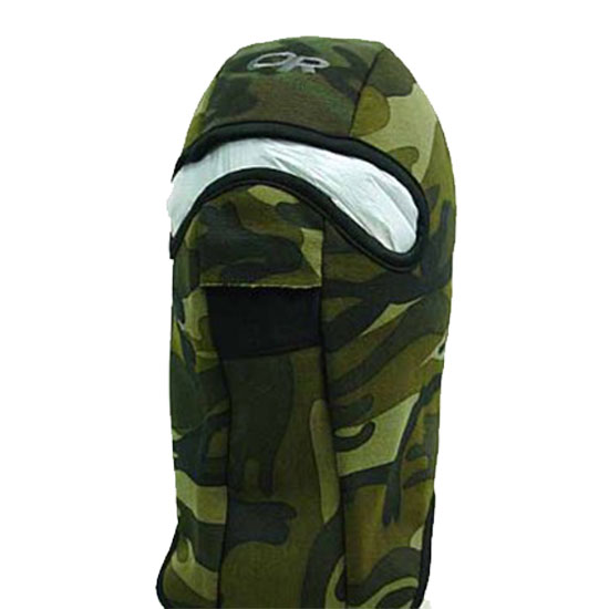 Face Fleece Mask Balaclava Hood 1 Hole Head Camo