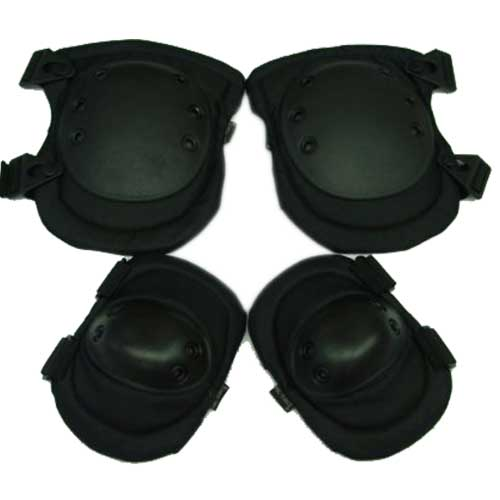 NiceTactical Knee & Elbow Pads Black