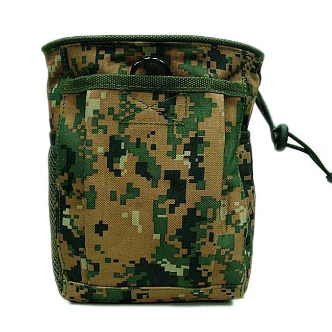 Digital Camo Woodland Molle Magazine Tool Drop Pouch