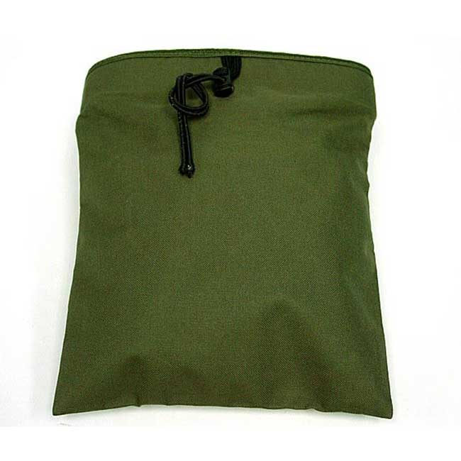 Molle Tactical Airsoft Magazine Mag Tool Drop Pouch Bag OD Online