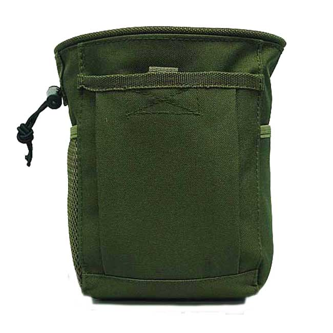 Airsoft Molle Magazine Mag NVG Tool Drop Pouch Bag OD