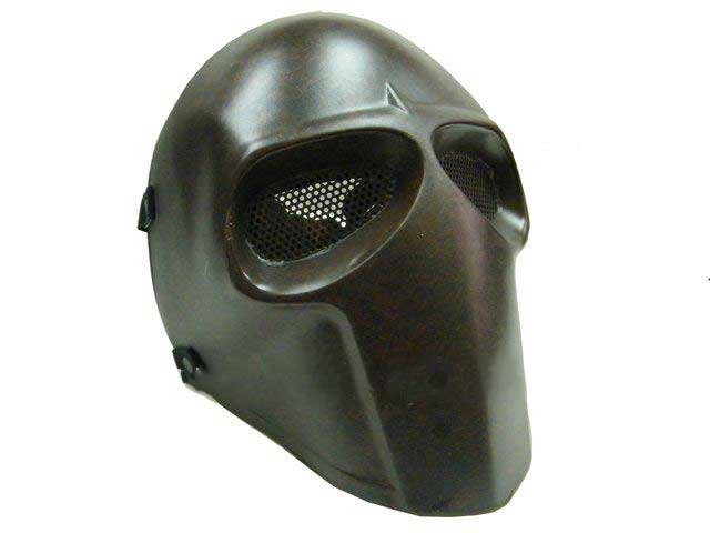 Airsoft Fiber Full Face Cover Mask Copper Color [HSMAL1206