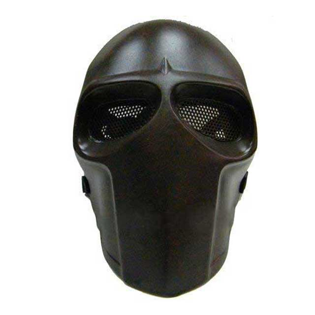Airsoft Fiber Full Face Cover Mask Copper Color