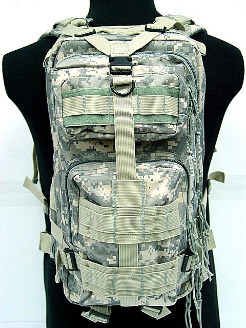 3L Level Tactical Assault Molle Backpack Outdoor Sport Bag ACU