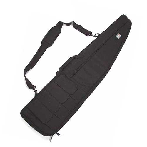 "48"" Large Tactical AEG Rifle Sniper Case Hunting Gun Bag Pouch BK"