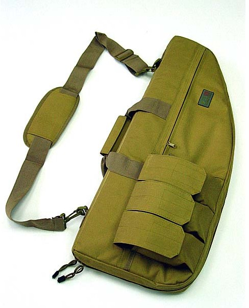 28 inch Tactical AEG Rifle Sniper Case Gun Bag Coyote Brown