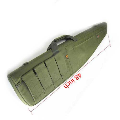 "48"" Large Drag Bag Ultimate Tactical Rifle Sniper Case Gun Bags OD"