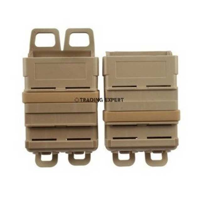 Fast attach mag pouch MOLLE system Tan on sale