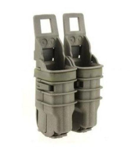 Fast attach mag pouch MOLLE system (Dark Earth) Airsoft Gear