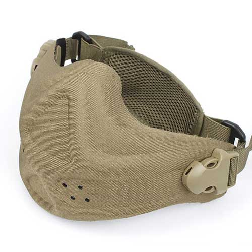 James Weekend Worrior Neoprene Hard Foam Mask Tan