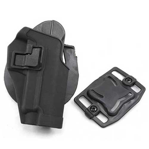 Black Hawk CQC SIG P220 P226 SERPA Gun Holster Paddle Leg Belt RH BK