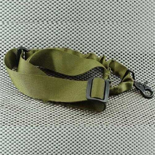 Navy Seal & USMC Style CQB 1 Point Bungee Sling - OD