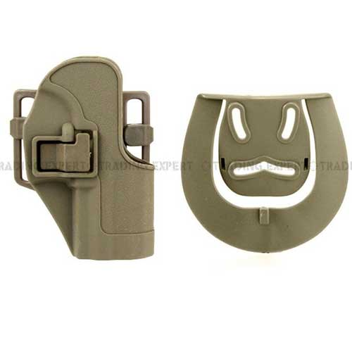 CQC Compact for HK USP SERPA Handgun Pistol Tactical Holster RH Tan