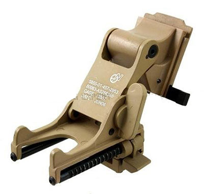 Fast Helmet mount for night vision monocular PVS NVG Mount (Tan)