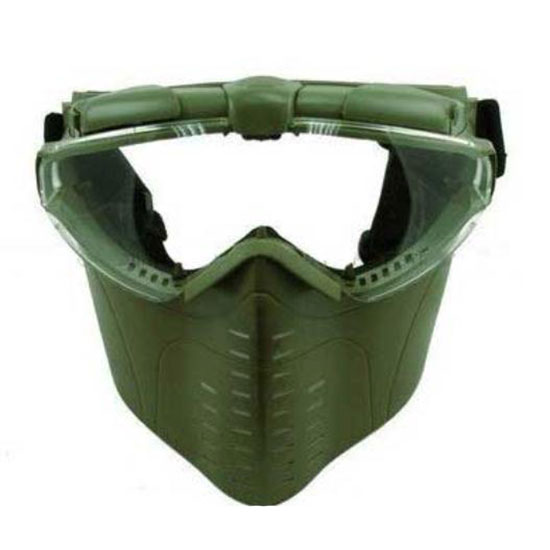 Electric Turbo Fan Full Face Mask (OD Green) Z6017E