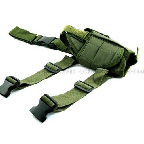 Airsoft Tactical Tornado Leg Holster Drop Leg Pistol Mag Holder OD