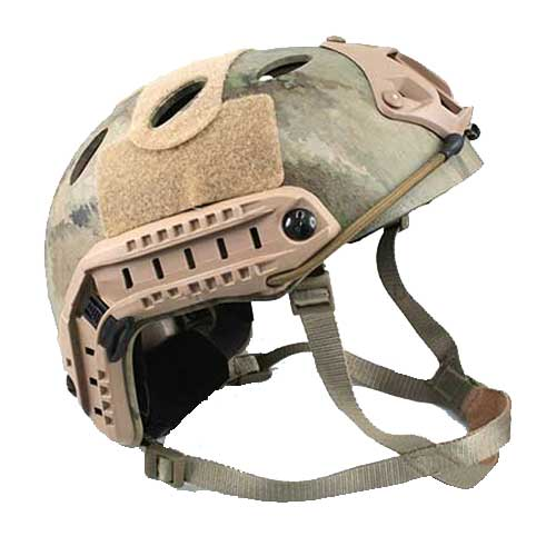 A-TACS Fast Style Base Jump Helmet Navy Seal Carbon T3016