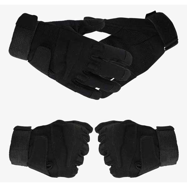 Black Hawk Tactical Duty Full Finger Gloves Military Hunting Glove