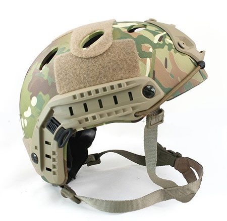 Fast Style Base Jump Helmet Navy Seal Carbon Shell Multicam