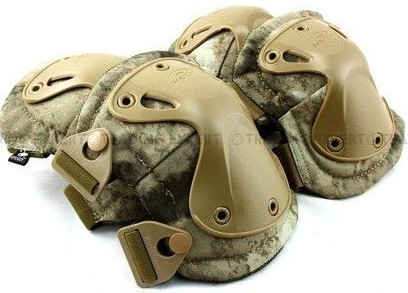 SWAT X-Cap Paintball Knee&Elbow Pads A-TACS Y5007