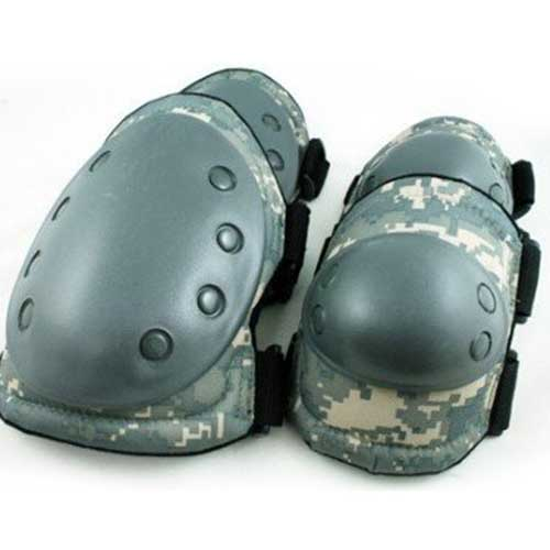 Paintball Airsoft Knee and Elbow Pads ACU Y5008