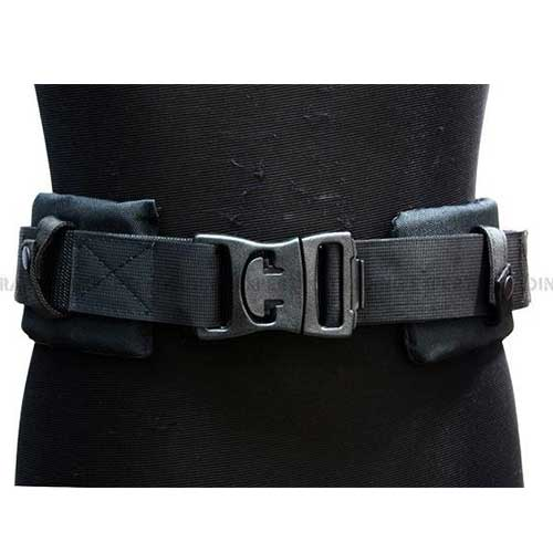 Tactical Double layer extra padding operation Black Belt