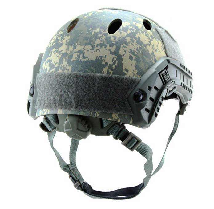 Fast Base Jump Helmet Navy Seal Carbon Shell ACU