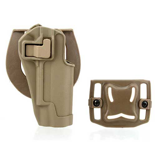 CQC 1911 Tactical SERPA Holster handgun Pistol Paddle Belt Holser DE