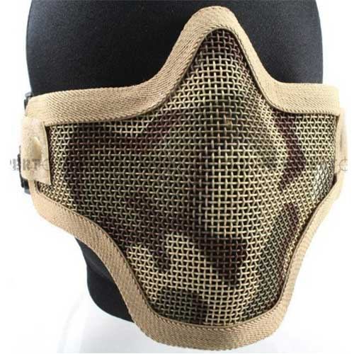 Strike Half Face Steel Mask (Desert Camo) Z6021