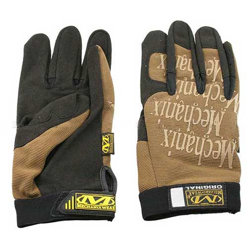 Mechanix Style Tactical Gloves Tan Y5012