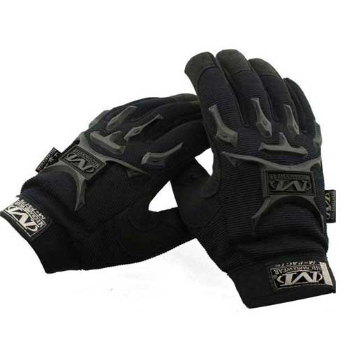 Mechanix style Tactical M-Pact Gloves Black Y5013