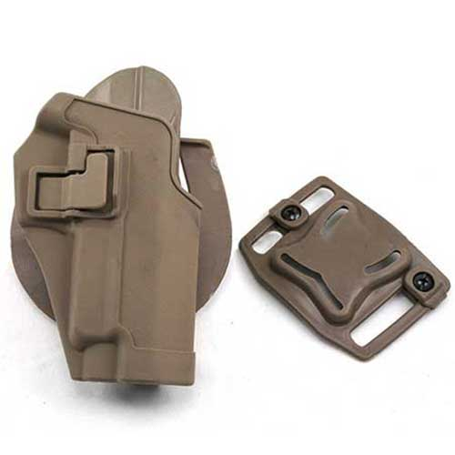 Black Hawk CQC SIG P220 P226 Gun Holster SERPA RH Tan