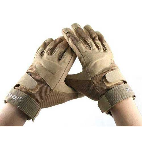 BlackHawk Tactical Duty Glove Military Hunting Full finger Gloves DE