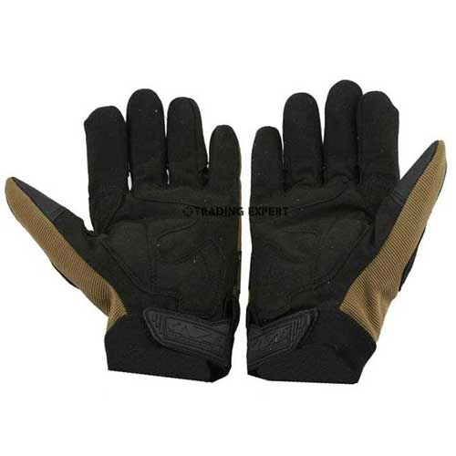 Mechanix style Tactical M-Pact Gloves Coyote Hiairsoft