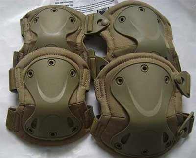 Transformers knee pads for your airsoft tactical upgrade