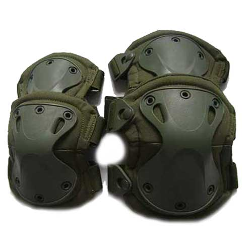 Transformers knee green for your airsoft tactical upgrade