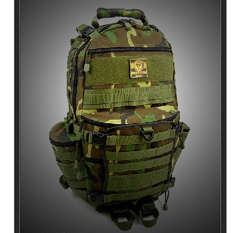 TAD III on behalf airsoft tactical Backpack jungle colors