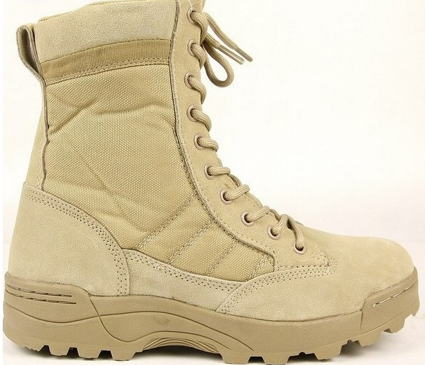 Tactical Shoes Cobra Desert Outdoor Military Casual Mens Boots DE