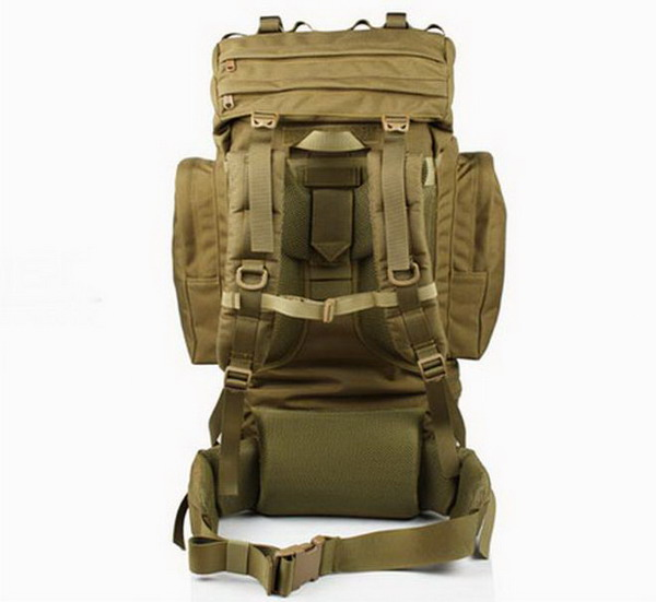 French 65 liters backpack (Coyote Brown) B4108D