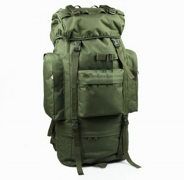 French 65 liters backpack (olive green) B4108E