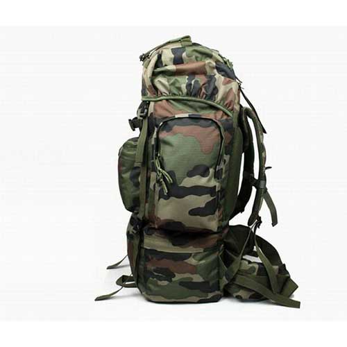 French 65 liters backpack jungle camouflage at HiAirsoft Store