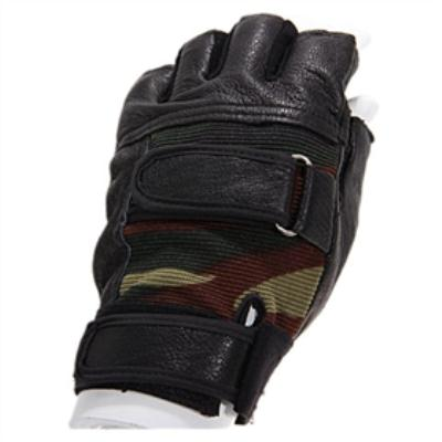 PU Leather Half Finger Gloves for outdoor war game