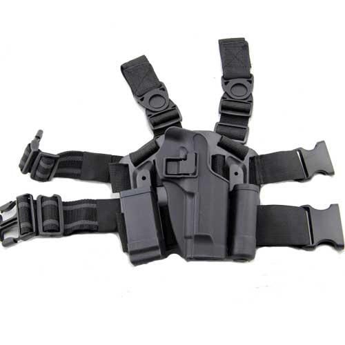 M92 96 Holster Puttee Thigh Pistol Holster Drop Leg Set Blackhawk M9