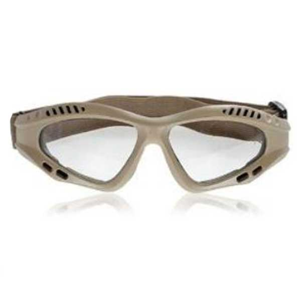 Military Goggles Practical Design Transparent Lens Desert Frame