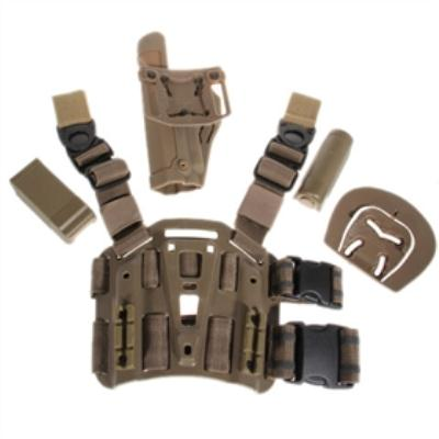 Tactical Gear Holster Leg Gun Pouch with Buckle for P226 Type