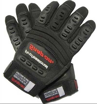 Outdoor Comfortable Riding temperature resist Gloves black
