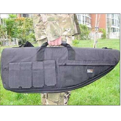 Tactical Carry Case 87cm Rifle Gun Slip Width Bag Black