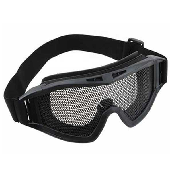 Metal Mesh Goggle Revision Style Tactical Airsoft Goggle Black